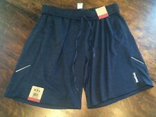 NWT Men's REEBOK Navy Basketball Lounge Athletic Shorts Size 2XL XXL