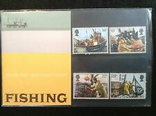 GB Royal Mail 1981 Presentation Pack #129 FISHING - Low S&H