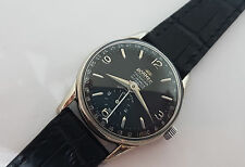 RARE VINTAGE ROAMER CALENDAR POINTER BLACK DIAL MANUAL WIND MAN'S WATCH
