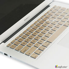 "Silicone Keyboard Skin Protector For Apple Macbook Pro Air Retina 13""15""17""Gold"