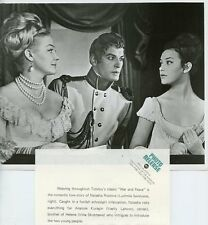 IRINA SKOBTSEVA VASILY LANOVOI LUDMILA SAVELYEVA WAR AND PEACE 1973 ABC TV PHOTO