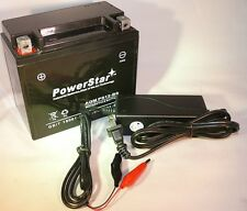 Motorcycle Battery/Charger for SUZUKI VL800 Intruder Volusia, 800CC 01-'08