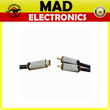 S video 4 pin male plug to 2 x RCA male plug cable 1.5M