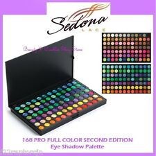 NEW Sedona Lace 168 PRO FULL COLOR SECOND EDITION PALETTE Eye Shadow 2 FREE SHIP