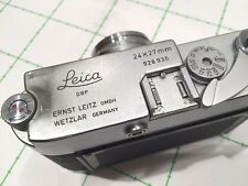 LEITZ LEICA MD POST (or M3 POST?) 24X27mm AND  SUMMARON3.5cm/3.5 - REF:CK8594
