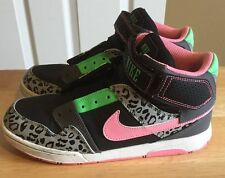 Nike Multicolor High top Shoes Women's Size Youth 6 80's 90's Retro Pattern