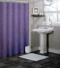 """Magnetic Vinyl Shower Curtain Liner Purple Size :70""""W X 72""""L Mildew resistant"""