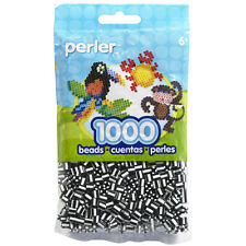 """Perler Striped Beads 1,000/Pkg-Zebra, Set Of 3"""