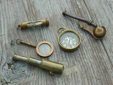 Telescope,Compass,Magnifier,Whistle,Hourglass Fingerprint Resistant Finish