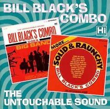 BILL BLACK Combo Goes Big Band / More Solid & Raunchy 2 on 1 CD vg