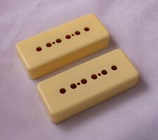 MATCHED SET OF 2 x P90 SOAPBAR  PICKUP COVERS /48mm & 50mm POLE SPACINGS/ IVORY