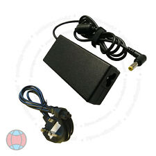FOR PACKARD BELL EASYNOTE TM83 RB-020UK LAPTOP ADAPTER CHARGER + CORD DCUK