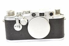 LEICA Model IIIC converted  to Leica IIIF, rangefinder camera by LEITZ Wetzlar