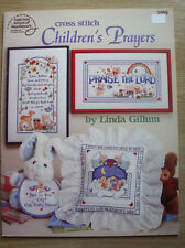 "Livret ""Children's Prayers"" d'ASN (point de croix bébé/baby cross-stitch)"