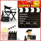Hollywood Style Clapper Board Director Fancy Dress Hand Prop Movie Film Theatre