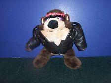 Tasmanian Devil Wearing Black Jacket