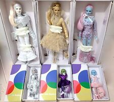 6 TONNER MARTIAN'S  3 LUNA dolls & 3 LITTLE MARTIANS- all in shippers NEW & NRFB