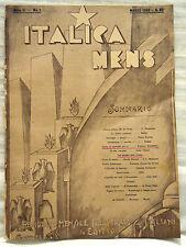 Colonie_Futurismo_ITALICA MENS_Mensile degl'italiani in Egitto_1934