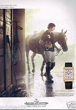 Publicité advertising 2015 La Montre Grande Reverso Jaeger-LeCoultre