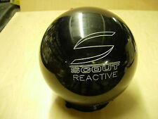 "11# 4oz ""Original TEXAS Columbia"" 2006 Scout/R Solid Black Reactive Bowling Ball"