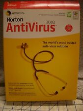 Norton Antivirus 2002 Disc and User's Guide