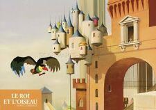 LE ROI ET L'OISEAU PAUL GRIMAULT JACQUES PREVERT 1980 VINTAGE LOBBY CARD #1