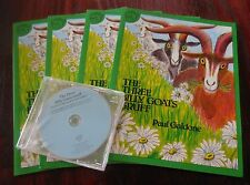The Three Billy Goats Gruff New Scholastic Listening Center 4 Book Set w/CD