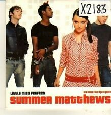 (CP135) Little Miss Perfect, Summer Matthews - 2003 DJ CD