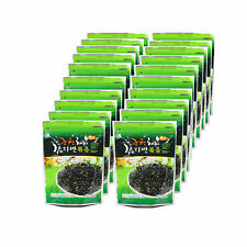 KOREAN Roasted Laver Seaweed Flakes, 20 PACKS For Rice Ball, Nori, Snack