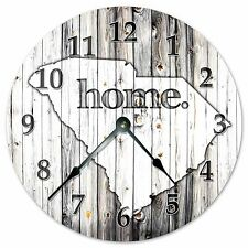 "SOUTH CAROLINA RUSTIC HOME STATE CLOCK - Large 10.5"" Wall Clock - 2250"