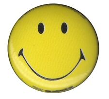 Smiley Acid House Hippy 1 inch button badge Emoji Happy