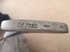 Vintage Kel Nagle Bulls Eye Putter Pro Fit Eje Golf Club Australia hizo 1960s