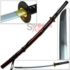 Sugoi Steel Ronin Asano Samurai Katana Functional 1060 HC Battle Ready Sword