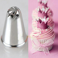 Rose Shape Spiral Icing Piping Cake Decor Nozzle Cupcake Pastry Baking Tools HOT