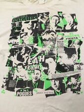 1980 80S VTG THE POGUES T SHIRT BRITISH PUNK CLASH SEX PISTOLS BLONDIE RAMONES