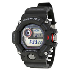 Casio G-Shock Rangeman Multi-Band 6 Atomic Timekeeping Digita Dial Black Resin