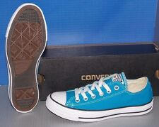 """CONVERSE """"CHUCK TAYLOR"""" CT OX CANVAS in colors BLUE CYAN SPACE MENS 7 WOMENS 9"""