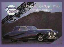 1947 Delahaye Type 175S, Imperial Palace Co. LV, Car Trading Card - Not Postcard