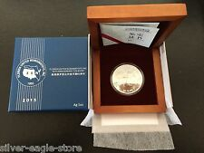 2015 FUN SHOW 1 OZ SILVER CHINA 1ST REVERSE PROOF PANDA .999 IN BOX W/ COA