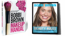 Bobbi Brown LOT: Makeup Manual (Parperback) & Beauty Rules (Hardcover)