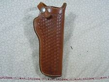 SMITH & WESSON 22 04W  LEATHER HOLSTER FOR S&W  REVOLVERS - 4 INCH.