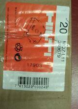Hilti bored plaque selle. MQZ-L11. #369679. boîte de 20 Unistrut.