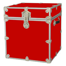 New Rhino Storage Trunk Footlocker 18x18x20 for Camp, College & Dorm. USA Made