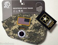 Neoprene Face Mask ARMY US Combat Motorcycle skiing bicyclist ATV Face mask