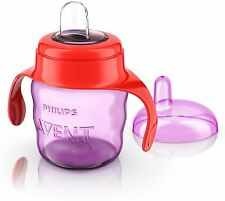 Philips Avent SCF551/13 Easy Sip Spout Cup with Handle 200 ml Pink