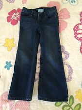 Baby Gap Toddler Girl Boot Fit Jeans size 4T w/adjustable straps