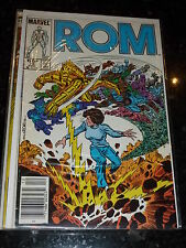 ROM Comic - Vol 1 - No 73 - Date 12/1985 - Bar Code - MARVEL Comics