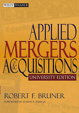 Applied Mergers and Acquisitions by Robert F. Bruner (Paperback, 2004)
