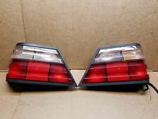 94 95 MERCEDES W124 E420 E500 E320 REAR TAILLIGHT TAIL LIGHT LAMP OEM CLEAR