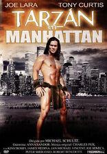 Tarzan in Manhattan NEW PAL Cult DVD Michael Schultz Joe Lara Tony Curtis